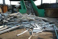 Non Ferrous Metals added to the Conveyor to be baled